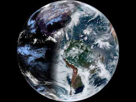 GOES-16 East 2020 October 26 UTC