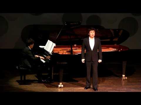 Bar. Gunyong Na                Klavier. Eunhyun Bang.       Konzertsaal, Dresden HfM. 08.07.2014