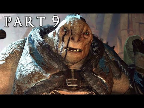 SHADOW OF WAR Walkthrough Gameplay Part 9 - Siege Fortress (Middle-earth)