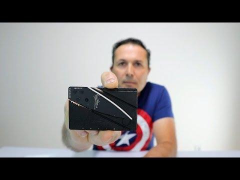 NÃO COMPRES ISTO(PROIBIDO EM PORTUGAL)(Credit Card Knife)