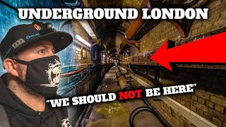 No one should be allowed to enter here!! (HIDDEN UNDERGROUND LONDON)