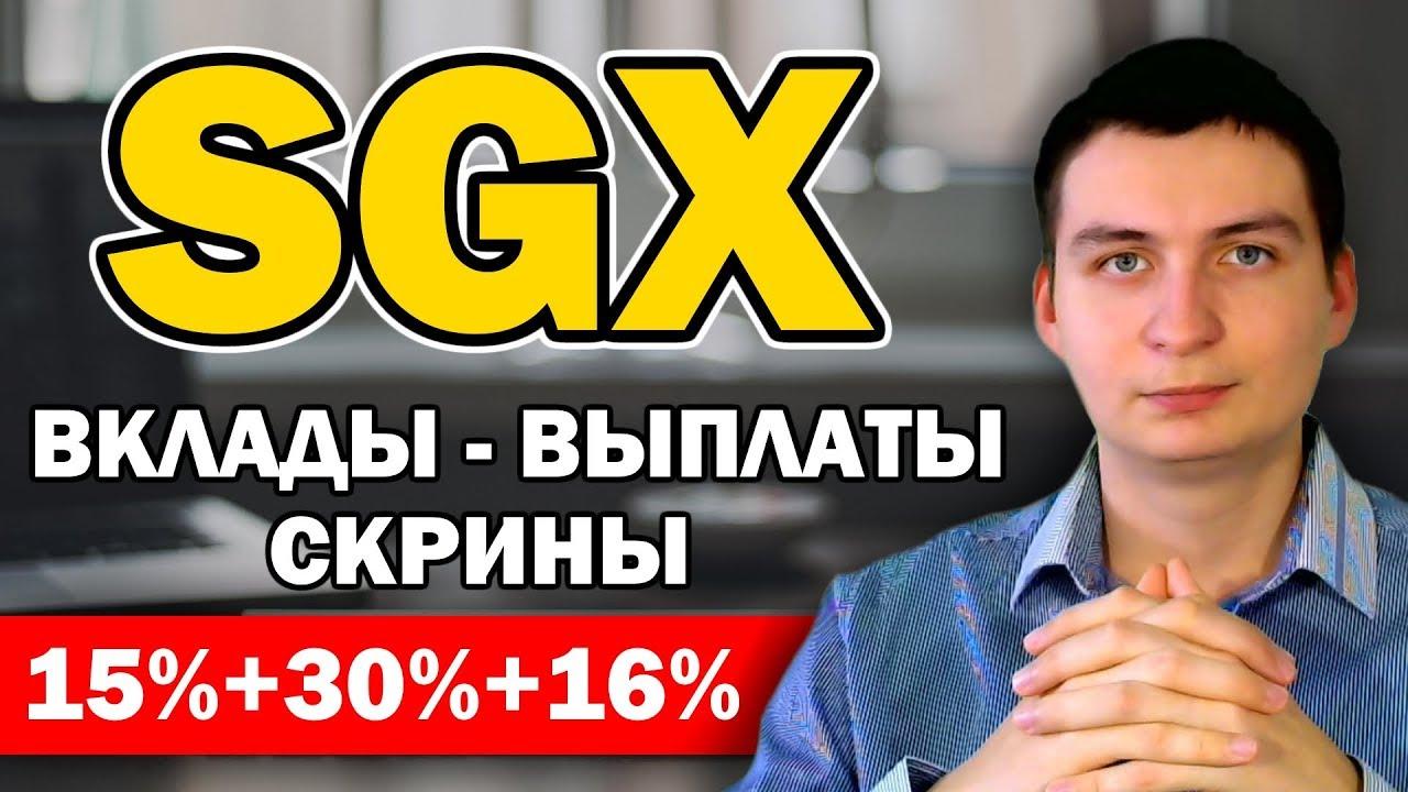 Download SGX Обзор проекта, очередной вклад и немного мотивации в скриншотах партнеров