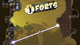 EPIC Cliff Forts & Super Lasers (Forts Gameplay)