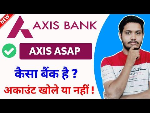 Axis Asap account