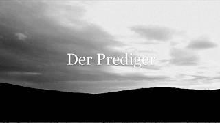 """""""Der Prediger"""" Gedanken aus dem Buch Kohelet (Altes Testament), Musik & Film: Linda Trillhaase"""