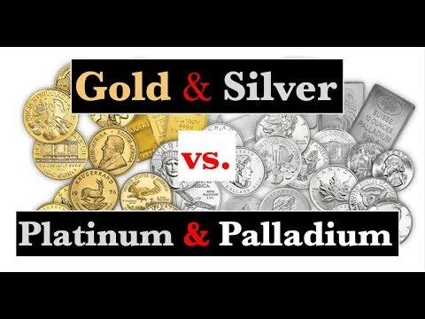 Gold / Silver vs. Platinum / Palladium - January 9, 2019