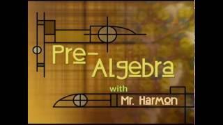 Grade 8 Pre-Algebra