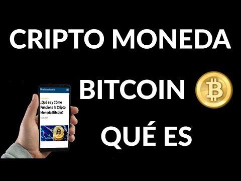 ¿Qué es y Cómo Funciona la Cripto Moneda Bitcoin?