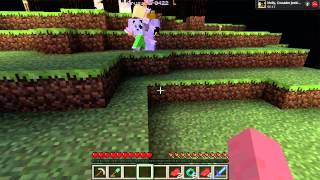 Minecraft Misadventures w/ Friends! - Cloudy with a chance of Disco Rain