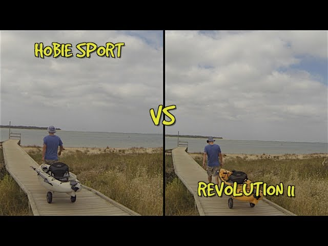 Hobie Sport vs Hobie Revolution 11