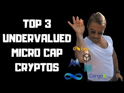 Top 3 Undervalued Micro Cap Cryptocurrencies