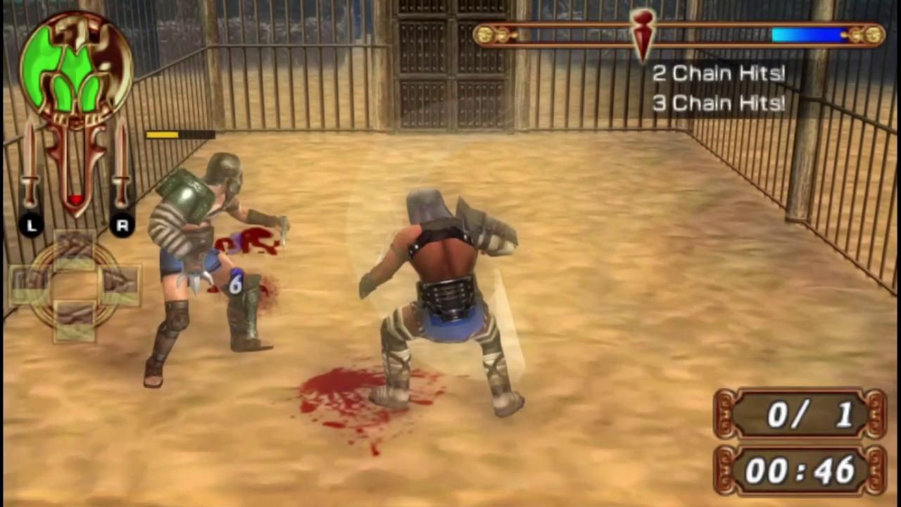 Gladiators Begins PSP iso by Loader PSP
