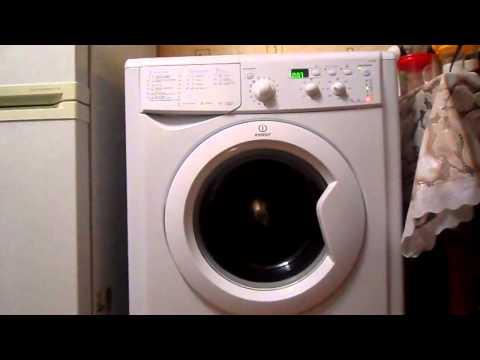 Стиральная машина INDESIT IWSD 5085 видео 2