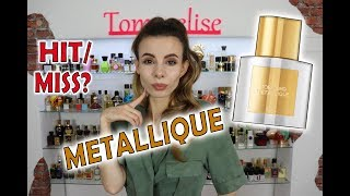 NEW PERFUME METALLIQUE by TOM FORD REVIEW | Tommelise