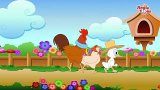sky is falling आभ ळ पडत य पळ पळ   animated marathi stories   fairy tales by jingle toons