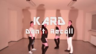 K.A.R.D - Don`t Recall Dance Cover Collaboration ACE & VIRDO Resimi