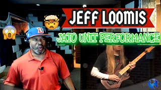 """Incredible performance by Jeff Loomis, """"Jato Unit"""" Live on EMGtv - Producer Reaction"""