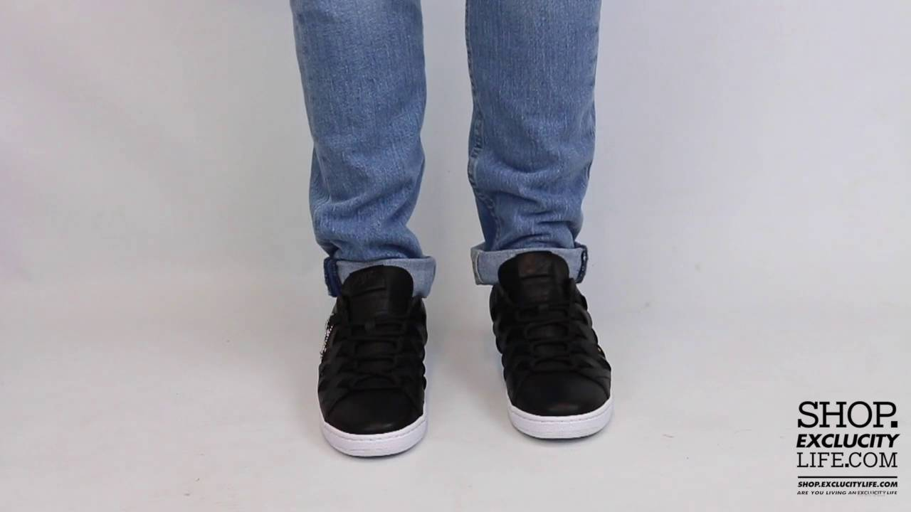 best service a1b8c 4309d Nike Tennis Classic Ultra Prm QS Black Anthracite On feet Video at Exclucity