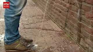 Terugplasmuur tegen wildplassers in Meppel | RTV Drenthe
