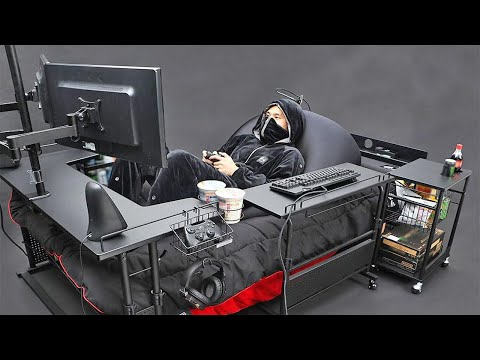 Japan Has Created The Ultimate Gaming Bed