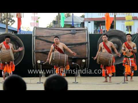 Rongmei - Kabui drummers from Manipur