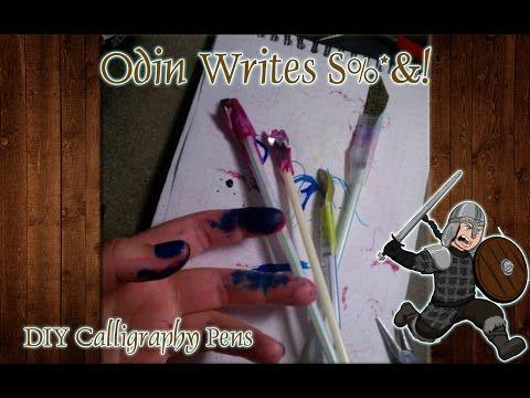 OWS: DIY Aluminum Calligraphy Pens