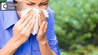 Difference between cold & allergy symptoms - Dr. Sailaja Vummadi