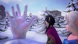 NEW Finger Family Song | Alisa & Hanna Make a Finger Family | Frozen Family Finger Song