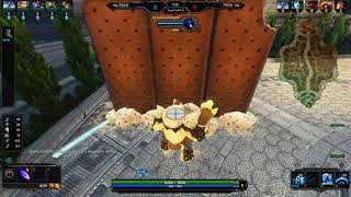 Smite - Minion Army destroys lane