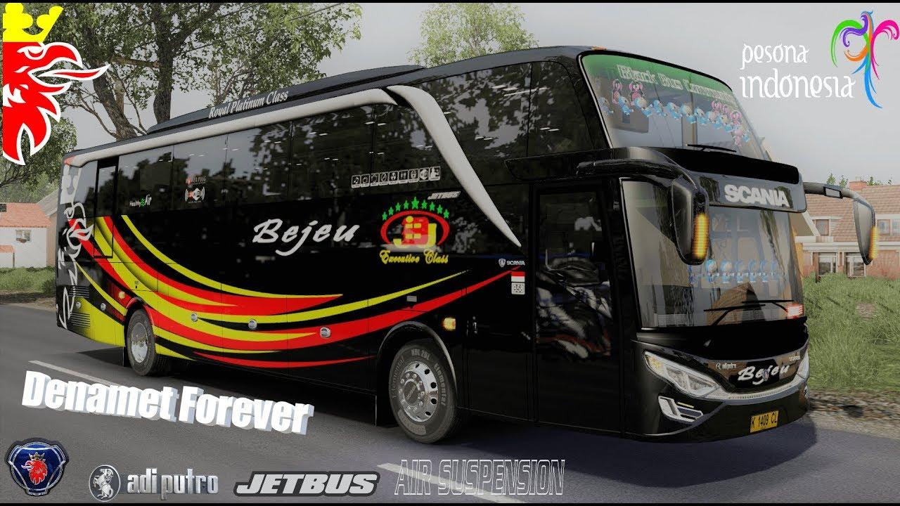 bejeu shd in action – Jetbus shd 2+  (scania k360ib) | ets 2 indonesia