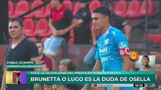 Belgrano recibe a Tigre el lunes a las 21:15hs