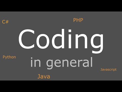 Coding in a Nutshell | 1 - Basics to every Programming Language in less than 10 Minutes thumbnail