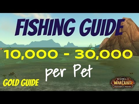 Wow fishing gold guide make 850 2500 gold per hour for Wow fishing guide