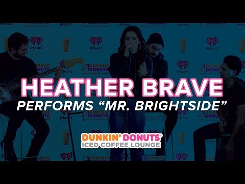 """Heather Brave Covers """"Mr. Brightside"""" Live 