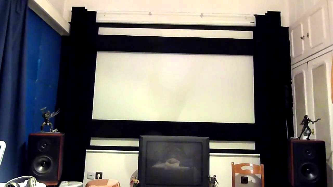 Eureka - A diy masking system for projection screens made in Greece ...