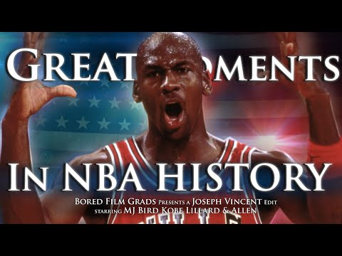 Great Moments In NBA History
