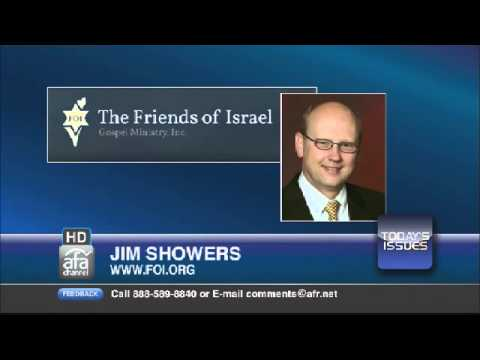 Jim Showers, President Of The Friends Of Israel