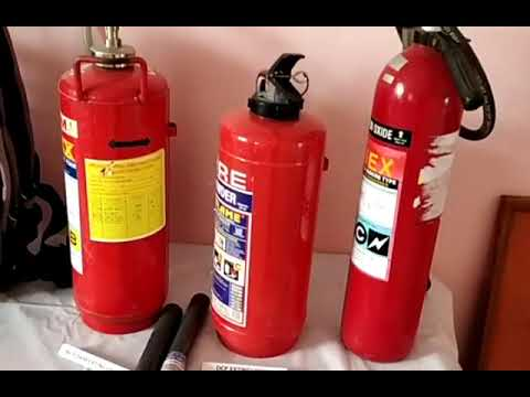 Fire Exhibition Room.Fire Safety Equipment Indian Fire Service Fire Service Academy In IndiaCiSFWing