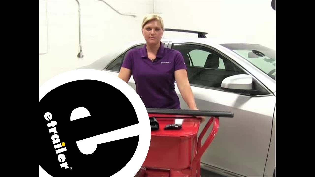 Superior Review Of The Rhino Rack Roof Rack On A 2014 Toyota Camry   Etrailer.com    YouTube