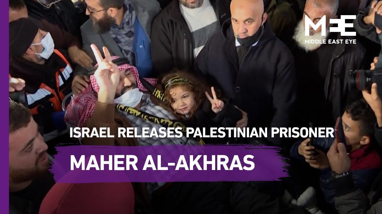 Israel releases Palestinian prisoner Maher al-Akhras