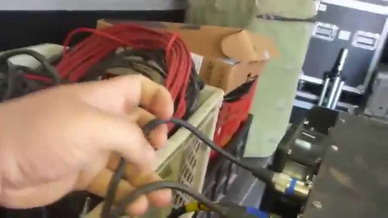 Manutenção Áudio - Por dentro do depósito