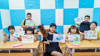 Kids Go To School   Chuns Day Birthday Close Friends Organize Birthday Cakes For You In Class 2