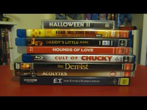 Horror/Sci Fi Update (4K, Blu ray & DVD)