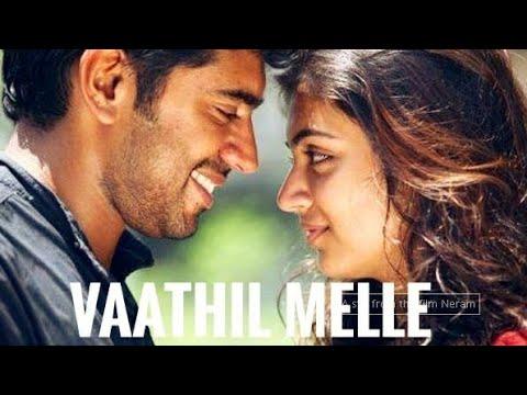 Vaathil Melle| Romantic Whatsapp Video| Lyrical video| Neram