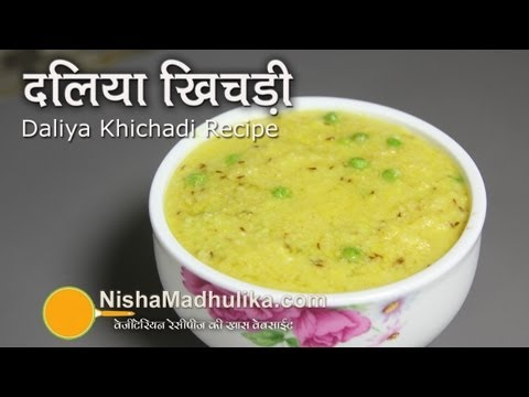 Dalia Khichdi recipe - Cracked Wheat Khichdi Recipe