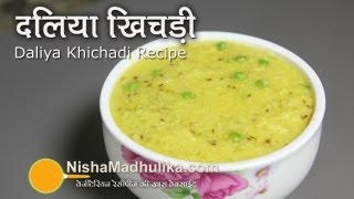Dalia Khichdi recipe - Cracked Wheat Khichdi Recipe
