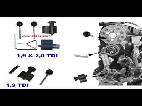 Changement courroie de distribution moteur ISUZU 1.7 D