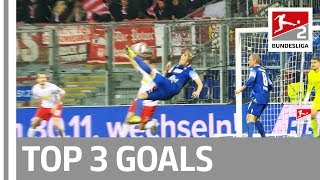 Top 3 Goals Solo Run Bicycle Kick More on Matchday 15 in Bundesliga 2