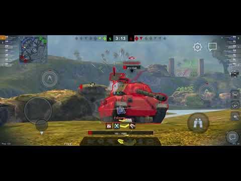 World of Tanks Blitz เล่นรถถัง IS-3 Detender โหดจัด