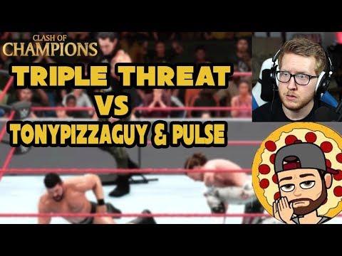 WWE 2K18 vs TonyPizzaGuy and Pulse | WWE...